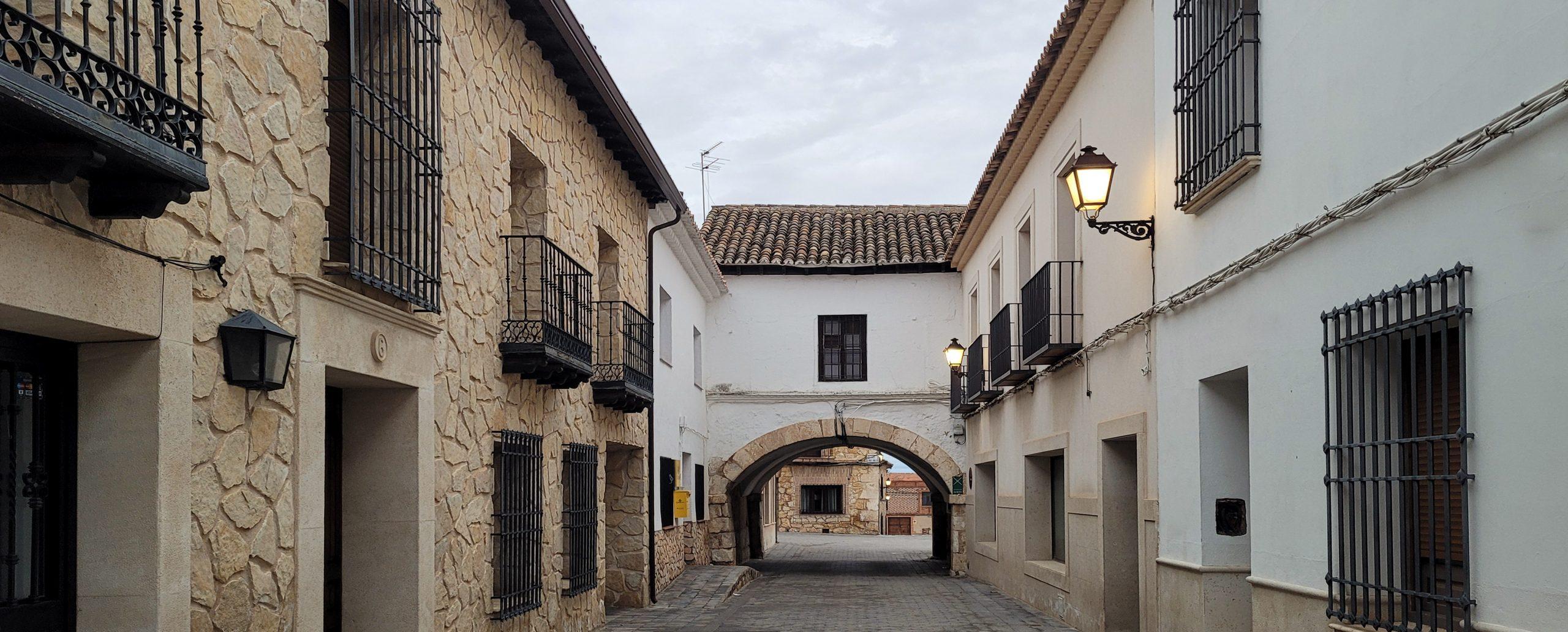 Calle Cervantes el Toboso