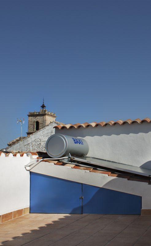 el loft de dulcinea terraza
